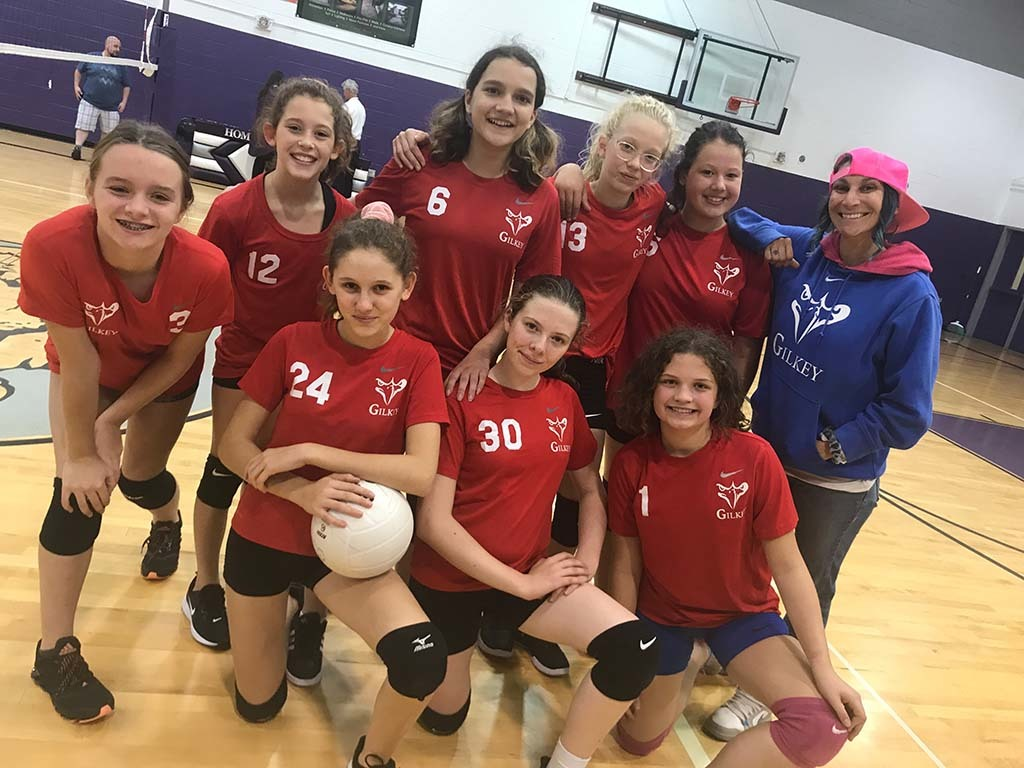 Volleyball Team Places 2nd